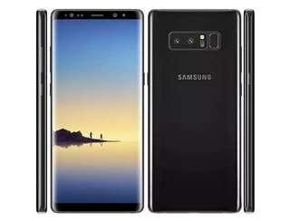 Samsung Note 8 4gb/64gb Black SME LIKE NEW