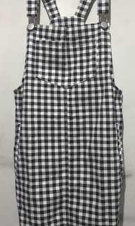 Denim Checkered Jumper