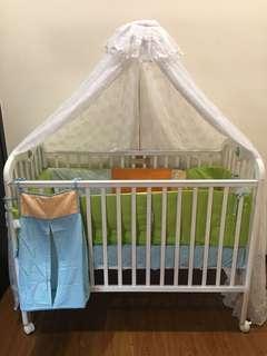 Baby Cot - Complete Set
