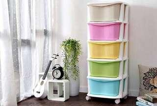 Drawer cabinet baju baby clothing