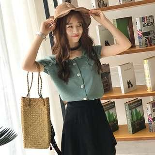*IN STOCK* New Korean Fashion Summer Casual Top *Premium Quality*
