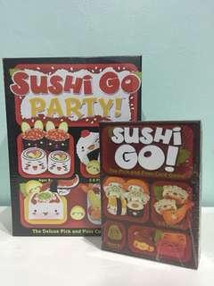 Sushi Go and Sushi Go Party