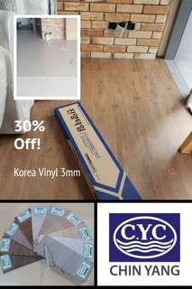 Korea 'CHINYANG' vinyl 3mm