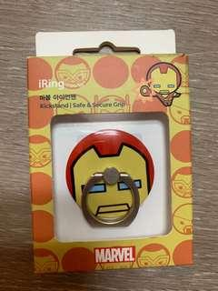 MARVEL IronMan Smartphone Kick Stan's Ring