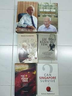 🚚 Lee Kuan Yew memoirs stephen covey jack welch and MORE