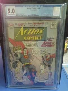 Action Comics #255 CGC 5.0 - DC Comics