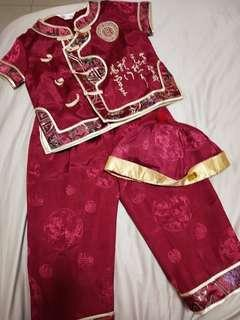 Preloved chinese new year cloth