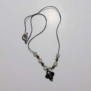 elephant bead string necklace 🏷