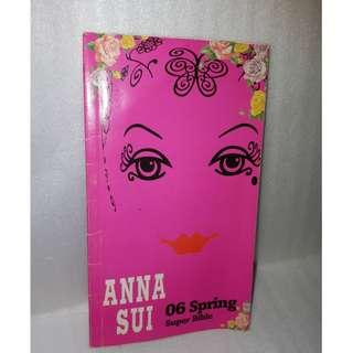Anna Sui bible catalogue collection catalog RARE