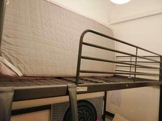 IKEA single storey bunk bed frame