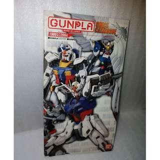 Gundam catalogue collection catalog RARE