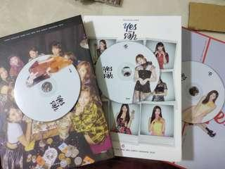TWICE Yes or Yes Album (Can Choose CD)