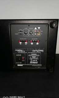 Earthquake subwoofer 150W +4 speakers