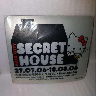 Hello Kitty Mouse Pad 2006 Collection Secret House