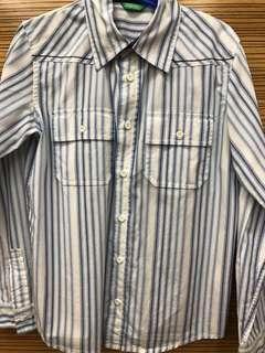 Benetton shirt size 8-9