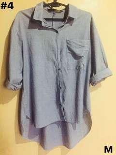 Grey long sleeves