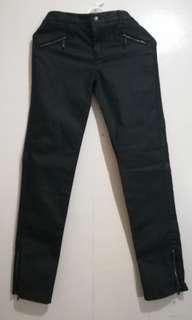 Stylized Black Jeans