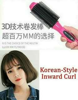 💞💞2ND RESTOCK!!💞💞 BRAND NEW!! VOLUME, STRAIGHT OR CURL COMB BRUSH!! GOOD FOR FLAT HAIR/ ACHIEVE KOREAN INWARD CURL!! PRACTISE MAKES PERFECT!! BEAUTIFUL SALON HAIR AT HOME!! DUAL HEAT TEMPERATURE!! AVAILABLE IN HOT HOT PINK/WHITE/BARBIE PINK!! HURRY!!