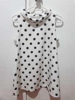 Polka Maternity dress