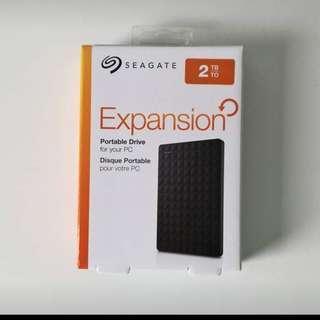 SEAGATE Portable Drive - 2TB