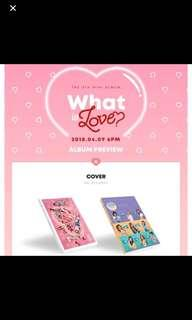 SEALED INSTOCKS TWICE WHAT IS LOVE