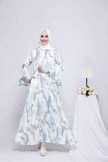 Dealova dress muslim cantik kekinian
