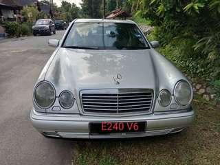 M. BENZ W210 V6 2.4 ELEGRANCE