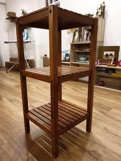 Scanteak 3 tier shelf