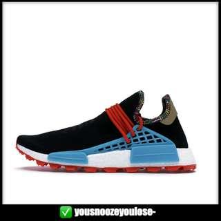 430711f30d02a  PREORDER  ADIDAS PHARRELL WILLIAMS HUMAN RACE NMD INSPIRATION PACK CORE  BLACK   CLEAR BLUE