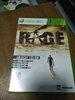 Xbox 360 Rage (NTSC region locked)