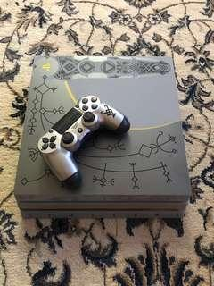 Limited Edition God Of War PS4 PRO