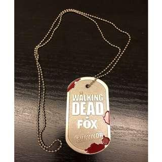 """""""The Walking Dead on Fox"""" Necklace #NEW99"""