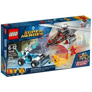 Lego 76098 Speed Force Freeze Pursuit (Pre-order)