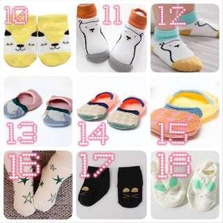 BN New Baby Newborn Girl Boy Cute Socks Sock Korean Kid Kids