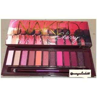 Naked Urban Decay Eyeshadow Palette Cherry