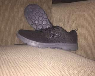 POWER Grey sport shoes / sepatu sport