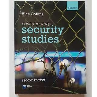 Contemporary Security Studies; Alan Collins