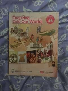 Inquiry into our World textbook 5B