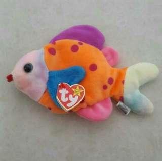 Lips Fish Ty Beanie Babies Plush Soft Toy