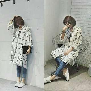 Snow square 0 Katun rayon, fit to xl , LD 106, pjg 86, lengan pjg