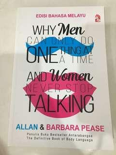 Why Men Can Only Do One Thing At a Time And Women Never Stop Talking (Malay Edition)