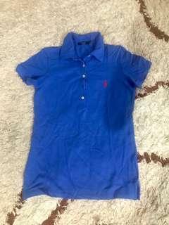 Polo shirt original / kaos polo original biru