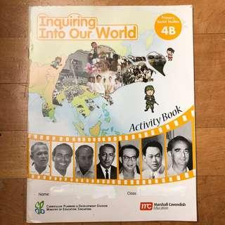 ~New~ Primary 4 Social Studies Inquiring Into Our World Activity Book 4B