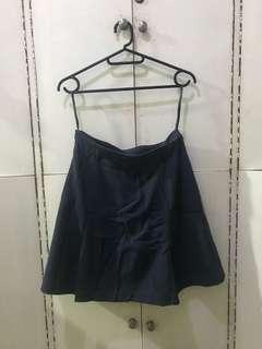 Pleated mini skirt(see wen worn photos)