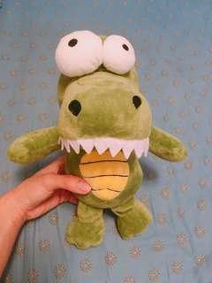 大細眼鱷魚公仔