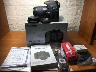 🚚 Canon 700D+18-55mmSTM