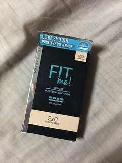 Maybelline fit me! Powder foundation