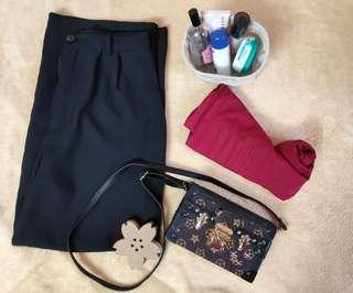 Black Slacks Pants for Women