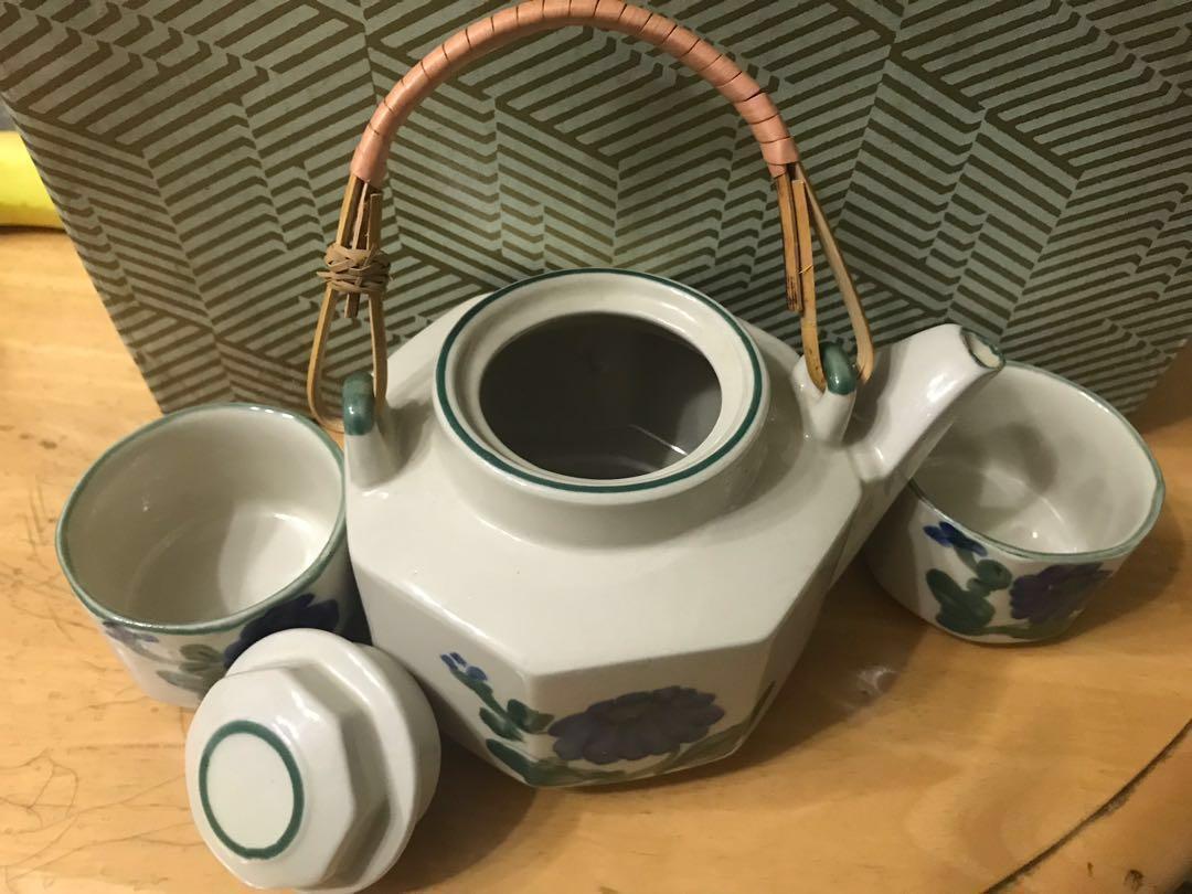 日本式茶具套裝(一套六件)