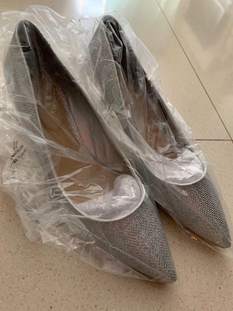 cb1a201bbe3d Aldo ladies Glitter Heels